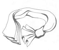 Плессированная бабочка