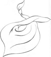 Платок на шею в стиле