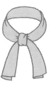 Платок или шарф в стиле